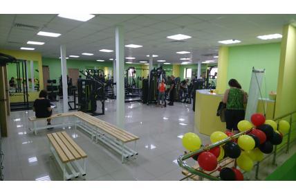 оборудование в фитнес клубе