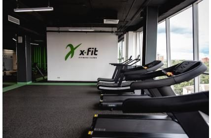 «X-Fit» - новый фитнес-клуб, открывшийся в Пушкино