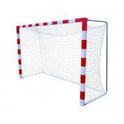 Сетка гандбол/мини-футбол Д=2,0 мм яч. 40*40 белый Размер 2,00 * 3,00 * 1.0 м ПП