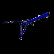 Консоль для канатов и шестов, ZSO, вынос 2 м