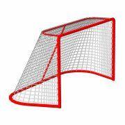 Сетка хоккей Д-2,6мм, яч. 40x40, цвет белый. Для ворот  1.25x1.85x1.30м. С повышенной светостабилиз